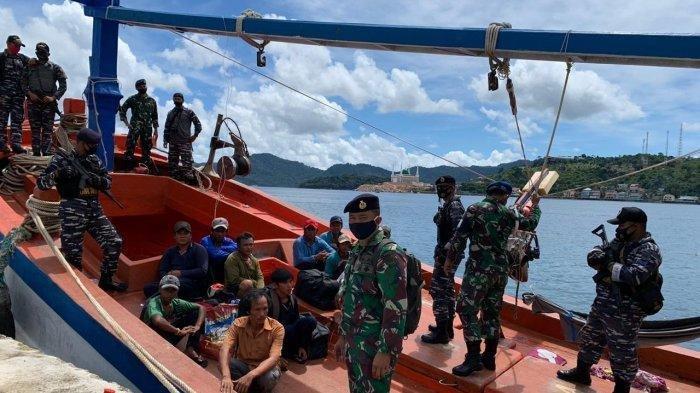 Kejaksaan Agung Musnahkan Empat Kapal Asing Berbendera Vietnam