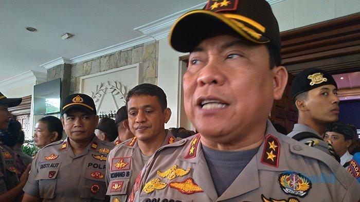 Kapolda Bali, Irjen Pol Petrus Reinhard Golose menyatakan sikap tegasnya terhadap kasus mafia tanah di Denpasar, Selasa (9/4/2019).