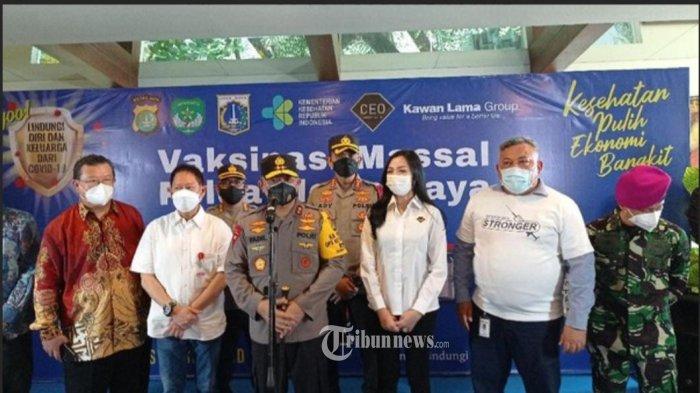 KTJ Kolaborasi Dengan CEO Indonesia Dirikan Posko Laksanakan Vaksin Massal