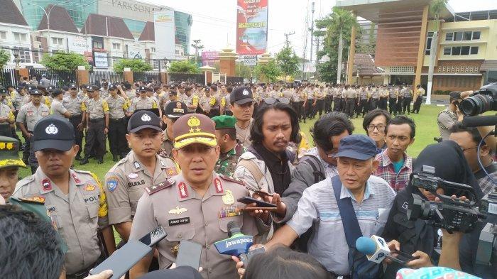 Bantu Pengamanan Pelantikan Jokowi, Polda DIY Kirimkan 4 SSK