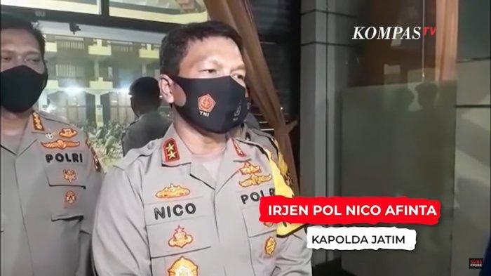 Kapolda Jatim Irjen Nico Afinta dd