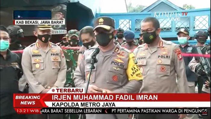 Kapolda Metro Jaya Minta Warga Bawa Surat Swab Tes Covid-19 Sebelum Kembali ke Jakarta