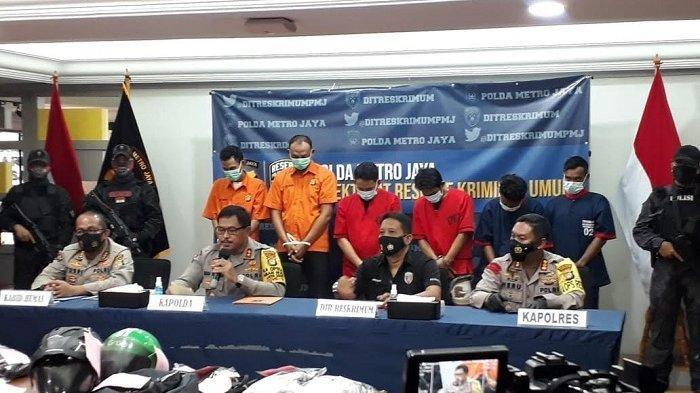 Dua Dari Empat Pelaku Begal Pesepeda Kolonel Marinir Ditangkap, Terungkap Peran Para Tersangka