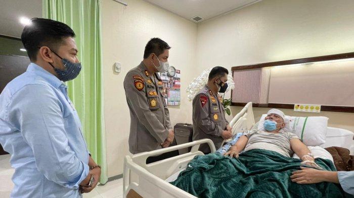 Datang ke RSPAD, Kapolda Metro Jaya Temui Eks Penasihat Ahlinya dan Sahabat Polisi DKI