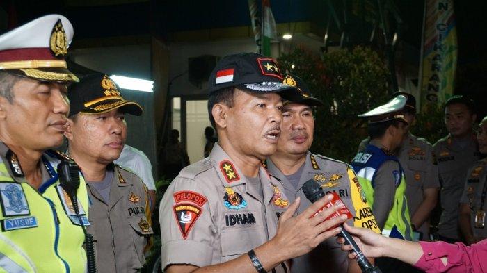 Irjen Pol Idham Azis saat menjabat Kapolda Metro Jaya.