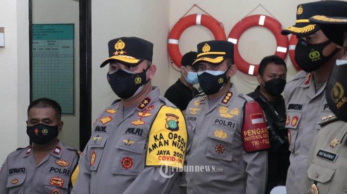 Kapolda Metero Sebut Warga Kampung Tangguh Jaya Tak Perlu ke Puskesmas Untuk Swab Antigen