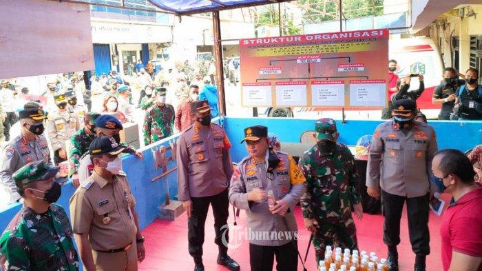 Kapolda Metro Jaya Irjen Pol Fadil Imran dan Pangdam Jaya Mayjen TNI Dudung Abdurachman.