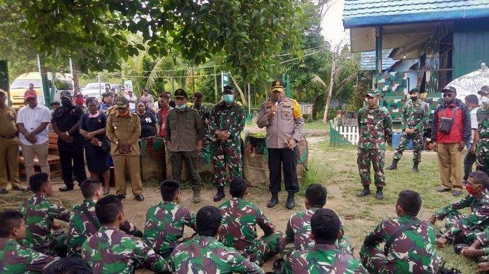 Ini Kata Kapolda Papua dan Pangdam XVII Cenderawasih Saat Menemui Anggotanya di Memberamo Raya