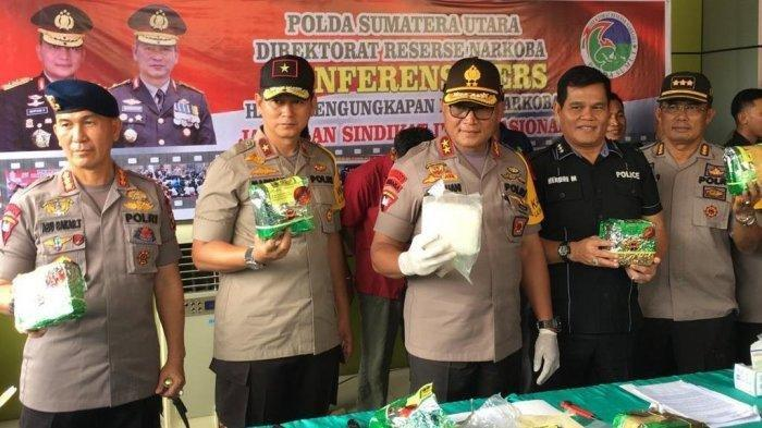 Polda Sumut Amankan 3 Pengedar 10 Kg Sabu, Salah Satunya Ditembak Mati