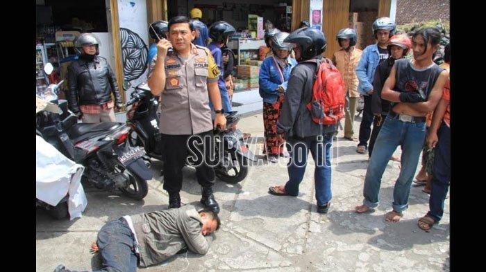 Pencuri Kecelakaan di Blitar Saat Membawa Lari Uang Hasil Jarahan, Diduga Komplotan Pecah Kaca