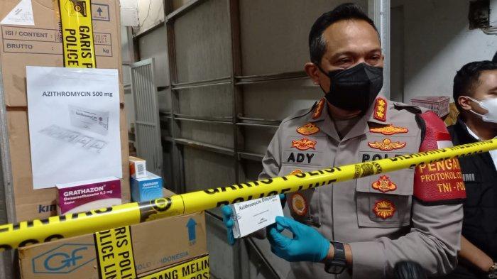 Polisi Periksa Direktur PT ASA Hingga Pembeli Terkait Dugaan Penimbunan Obat Jenis Azithromycin