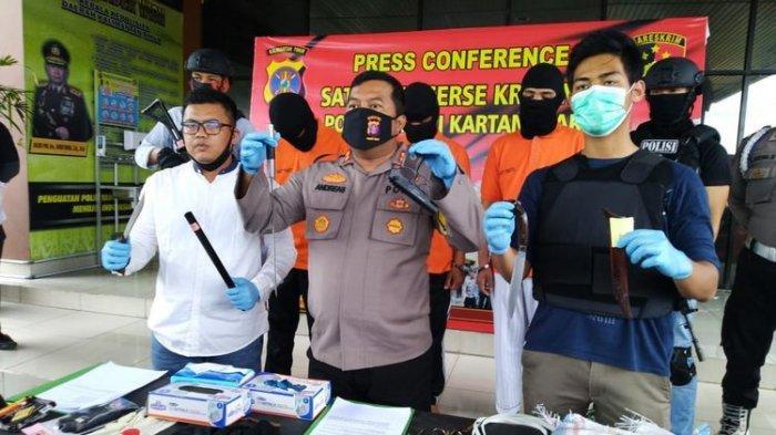 Tiga Pelajar SMA Nekat Rampok Toko Emas, Ingin Punya HP Buat Sekolah Online