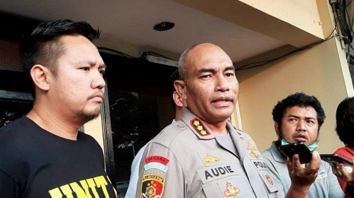 Kapolres Metro Jakarta Barat Kombes Audie S Latuheru ditemui di kantornya, Jalan S Parman, Slipi, Jakarta Barat, Selasa (17/3/2020).