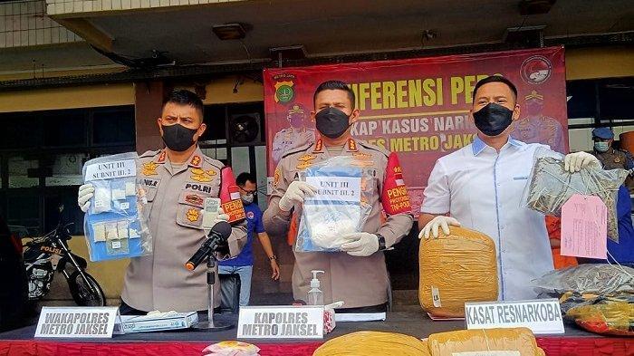 Polisi Ringkus Pengedar Narkoba Jenis Sabu di Mampang Prapatan Jakarta Selatan