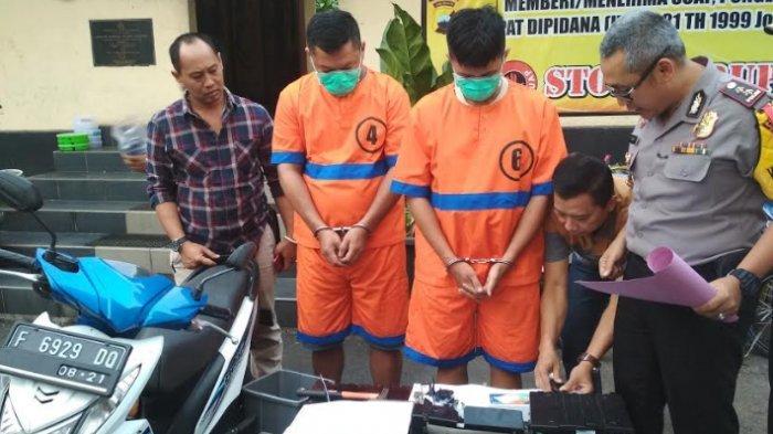 Dua Pria Bobol ATM Karena Kehabisan Uang Untuk Mabuk