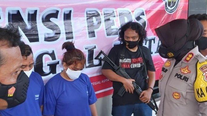 Butuh Uang, Sepasang Kekasih Nekat Mencuri Motor Anggota Polisi di Tegal, Pelaku Ditangkap di Bekasi