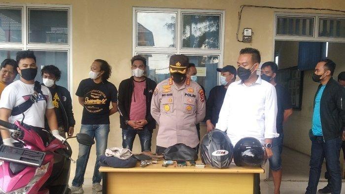 Dua Pelaku Curanmor di Bandar Lampung Tewas Ditembak Polisi