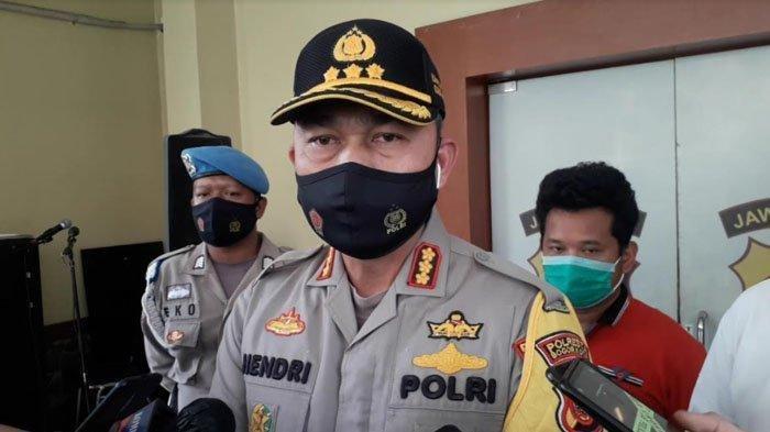 Kapolresta Bogor Kota Kombes Pol Hendri Fiuser saat ditemui wartawan di Mako Polresta Bogor Kota, Minggu (29/11/2020)