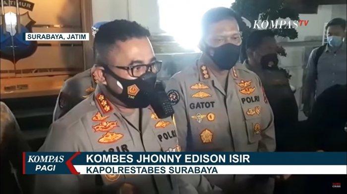 Kapolrestabes Surabaya, Kombes Jhonny Edison Isir  sss