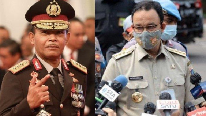 Buntut Kerumuman Massa Acara Habib Rizieq, Daftar Pejabat yang Dicopot Kapolri dan Anies Baswedan