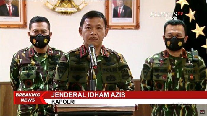 Kapolri Soroti Peningkatan Kasus Covid-19 di Indonesia yang Tembus 457.735 Kasus Positif