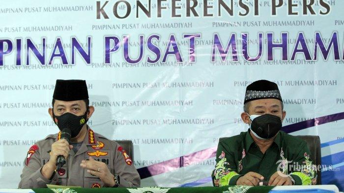 Polri Gandeng PP Muhammadiyah untuk Percepat Vaksinasi Covid-19