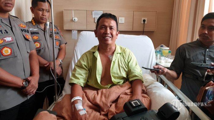4 Fakta Kapolsek Menes Terluka Saat Wiranto Ditusuk, Jalan Kaki ke Puskesmas, Tak Sadar Kena Tusuk