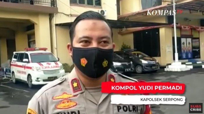 Kapolsek Serpong, Kompol Yudi Permadi