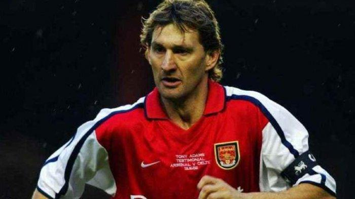 Kapten legendaris Arsenal, Tony Adams.