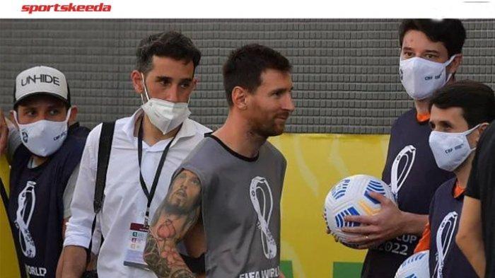 Kata-kata Menohok Lionel Messi ke Petugas Kesehatan yang Geruduk Laga Brasil Vs Argentina