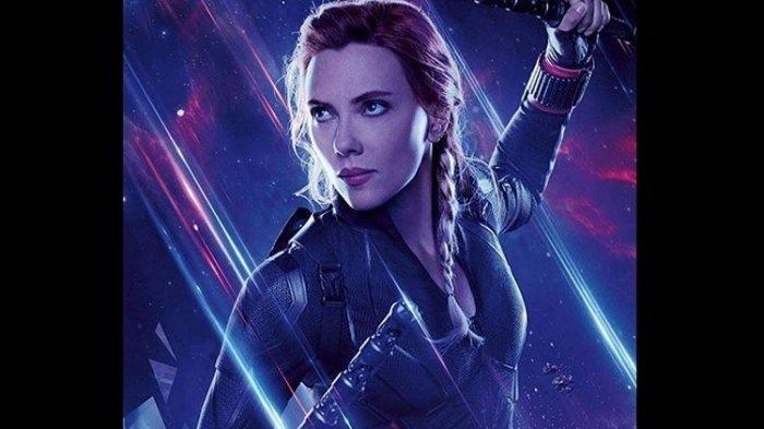 Karakter Black Widow yang diperankan Scarlett Johansson.