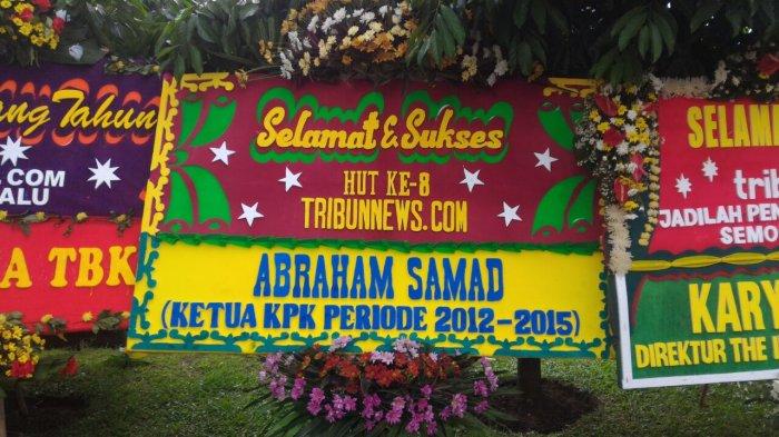 Abraham Samad: Selamat dan Sukses HUT Ke 8 Tribunnews.com