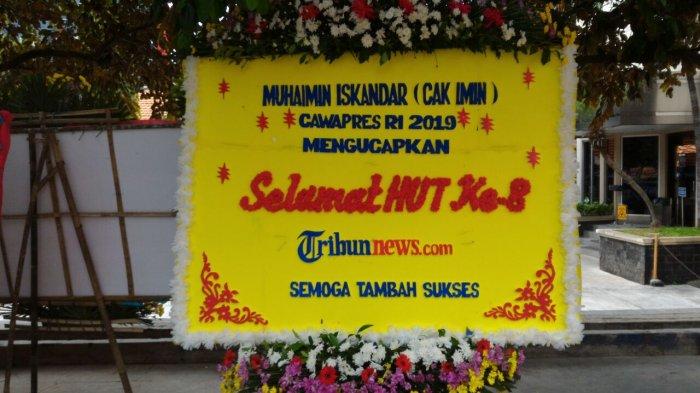 Cak Imin: Selamat HUT ke 8 Tribunnews.com Semoga Tambah Sukses