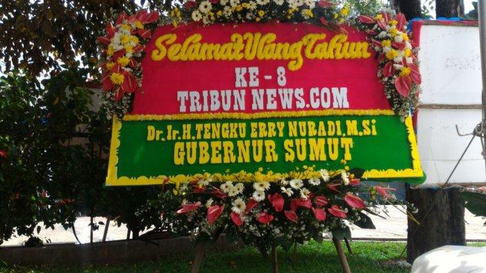 Gubernur Sumut: Selamat Ulang Tahun Ke 8 Tribunnews.com