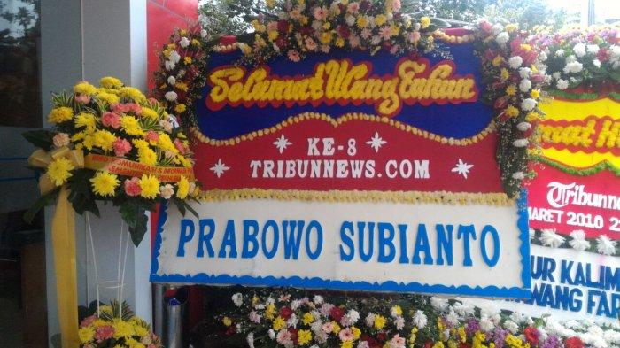 Prabowo: Selamat Ulang Tahun Ke 8 Tribunnews.com