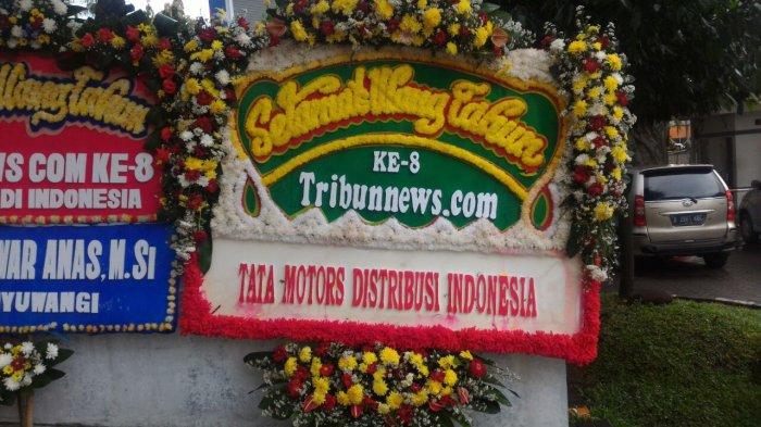 Tata Motors Distribusi Indonesia: Selamat Ulang Tahun Ke 8 Tribunnews.com