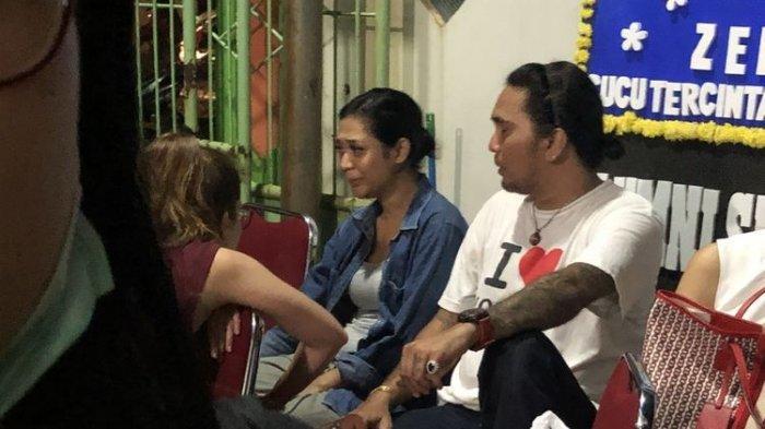 Karen Pooroe saat ditemui di rumah duka RS Fatmawati, Jakarta Selatan, Sabtu (8/2/2020).