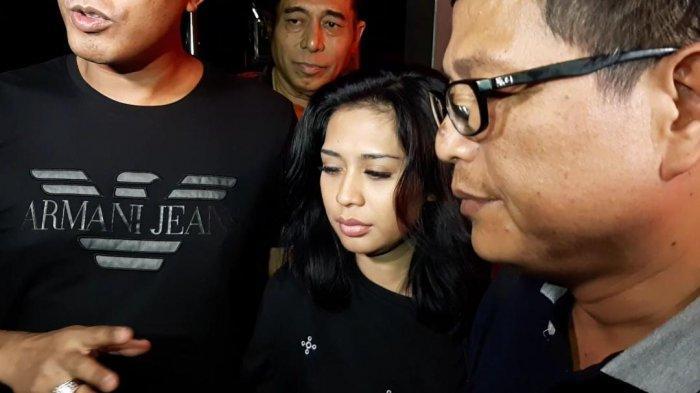 Karen Pooroe saat ditemui di Polres Metro Jakarta Selatan, Senin (10/2/2020).