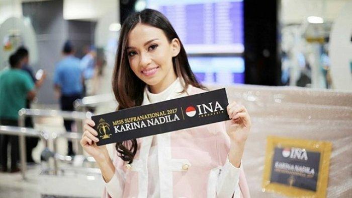 Karina Nadila (24) masuk top 25 Miss Supranational 2017. (instagram)