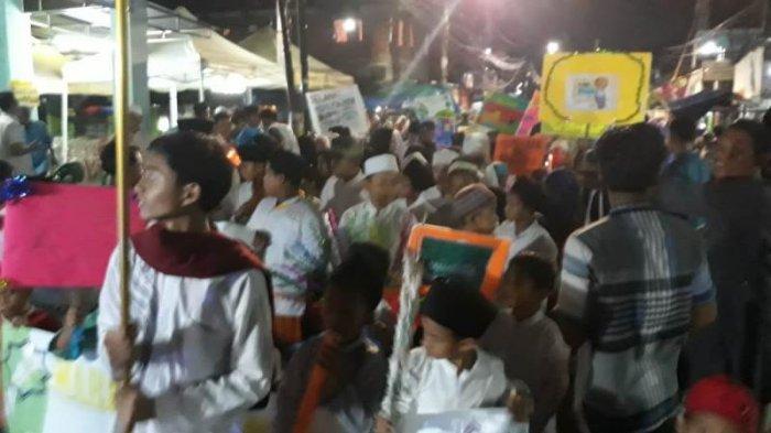 Keren! Dua Kubu Pendukung Capres di Cilincing Bersatu Gelar Karnaval
