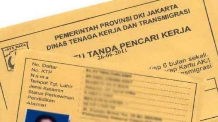 Kartu kuning sebagai salah satu syarat melamar pekerjaan.