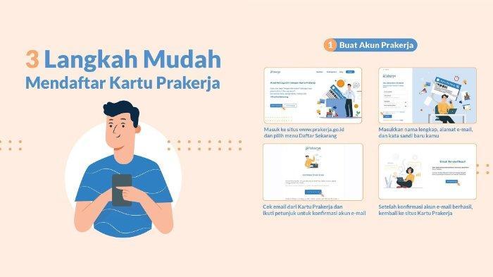 Pendaftaran Kartu Pra Kerja Gelombang 10 Dibuka Login Www Prakerja Go Id Dan Ikuti Alurnya Tribunnews Com Mobile