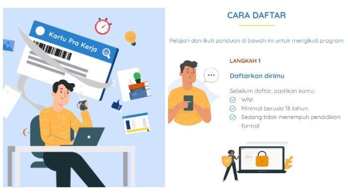 Akses www.prakerja.go.id, Pendaftaran Kartu Prakerja Gelombang 12, Simak Syarat serta Caranya