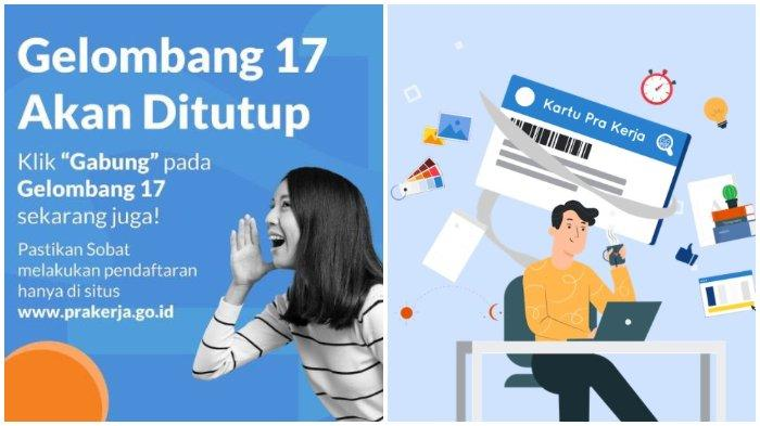 Kartu Prakerja Gelombang 17.
