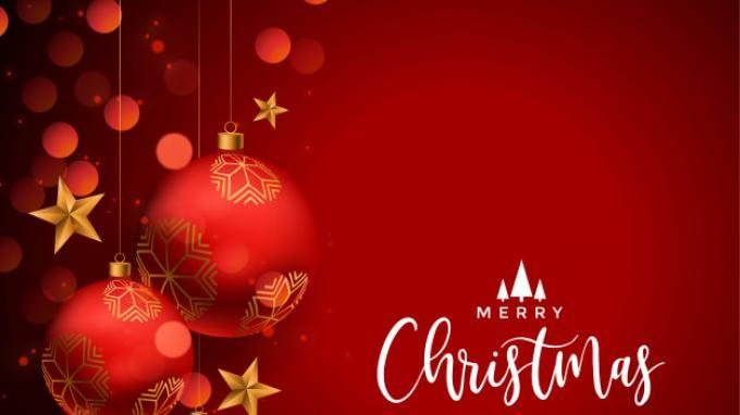 GAMBAR Selamat Natal dan Tahun Baru 2021, Berikut Ucapan dalam Bahasa Inggris Beserta Terjemahan