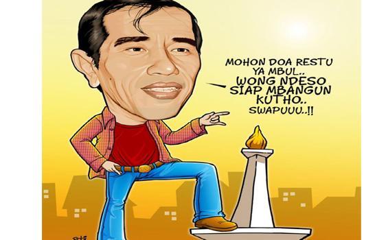 Presiden Teken SK Jokowi Sebagai Gubernur DKI