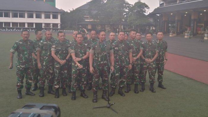 KSAD: Personel TNI AD Dikerahkan Jaga Keamanan Saat Pelantikan Presiden Jokowi