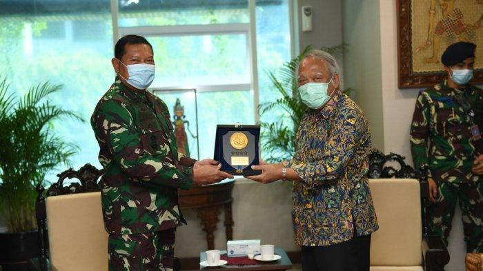 Kepala Staf TNI AL Temui Menteri PUPR, Ini yang Dibahas