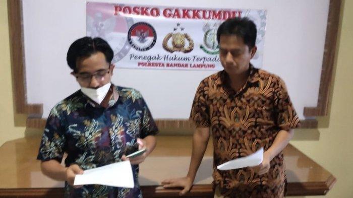Tim Advokasi Yusuf Kohar-Tulus Hadirkan 4 Saksi Terkait Dugaan Perusakan APK Pilkada Bandar Lampung