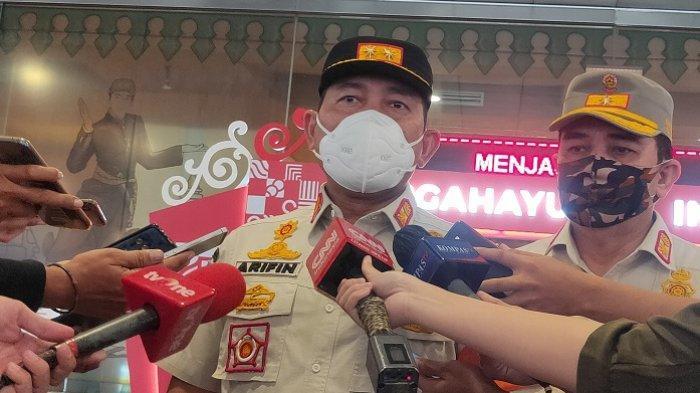 Kasatpol PP DKI Jakarta Arifin di Balai Kota DKI Jakarta, Jumat (7/8/2020).